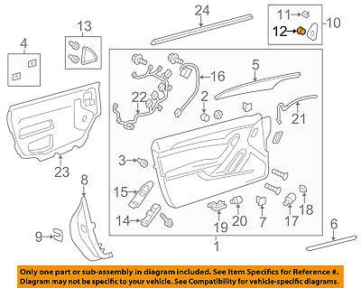 Oem Door Lock (Cadillac GM OEM 11-15 CTS Door-Lock Switch)