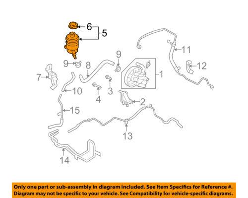 KIA OEM 07-10 Rondo-Power Steering Pump Reservoir Tank 571502G000