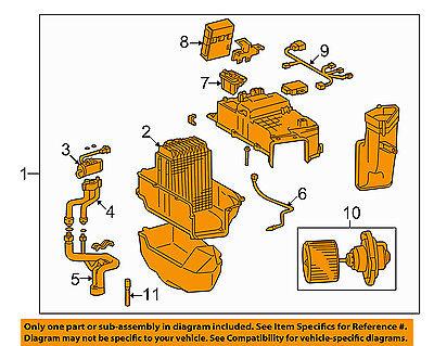 TOYOTA OEM-A/C AC Evaporator Core 8703060021