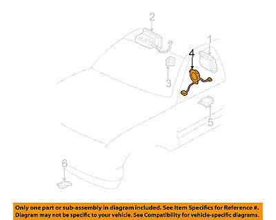 GM OEM Airbag Air Bag-Clockspring Clock Spring 26087306