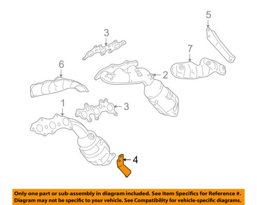 Toyota 17118-28060 Exhaust Manifold Stay
