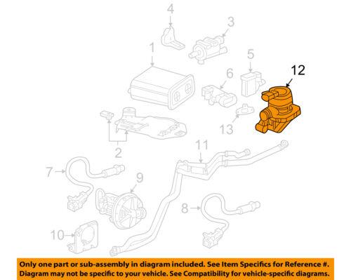 GM OEM A.i.r. System-Check Valve 12619128