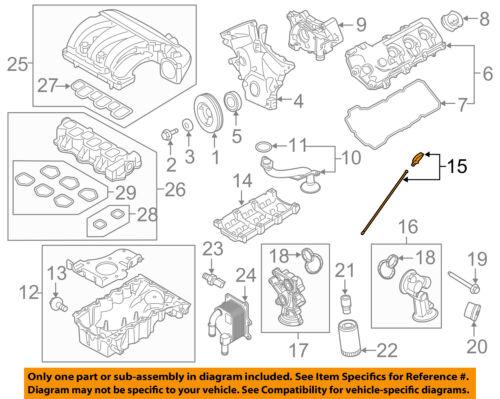 FORD OEM Engine-Oil Fluid Dipstick CJ5Z6750A