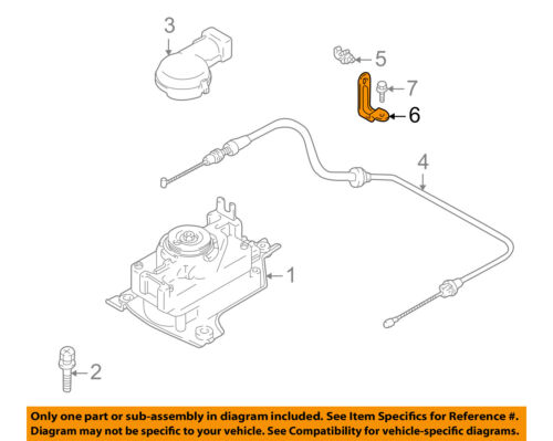 GM OEM Cruise Control System-Cable Bracket 89017380