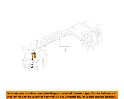 Gm Oem Antenna Mast Bracket 15042317 Ebay