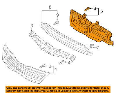 KIA OEM 14-16 Optima Front Bumper Grille-Shutter 863704U500