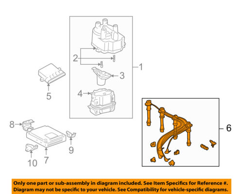 toyota tacoma ignition wiring diagram toyota oem 95 97 tacoma ignition spark plug wire or set see image  95 97 tacoma ignition spark plug wire