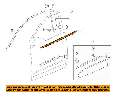 Genuine Toyota Belt Molding 68160-52160