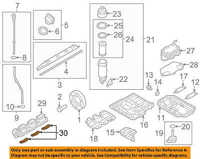 AUDI OEM 09-17 A6 Quattro-Engine Intake Manifold Gasket 079129717B