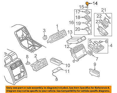AUDI OEM A8 Quattro Transmission Gear-Shift Knob Shifter Handle 4E1713141SSKJ