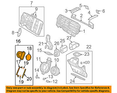 HONDA OEM 06-11 Civic Electrical-Outlet Duct 1J650RMX000