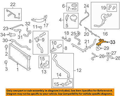 VW VOLKSWAGEN OEM 99-05 Jetta 2.0L-L4 Radiator-Flange 06A121132