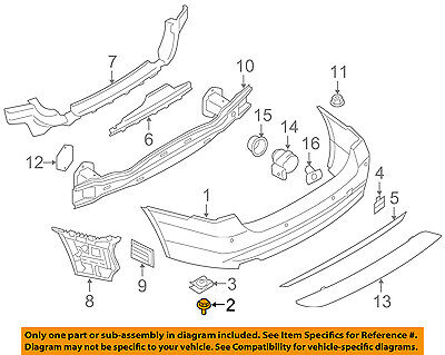 BMW OEM 09-16 Z4 Front Bumper Grille Grill-Bumper Cover Screw 07147129160