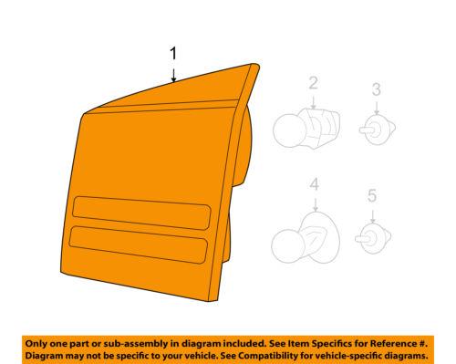 Dodge CHRYSLER OEM Journey Backup Lamps-Rear Lamps-Backup Lamp Right 4806368AF