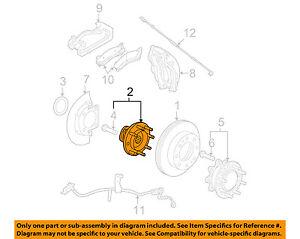 GM-OEM-Brake-Front-Hub-Bearing-Left-22740470