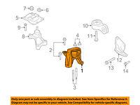 FORD OEM-Engine Motor Mount Torque Strut 5L8Z6068AE