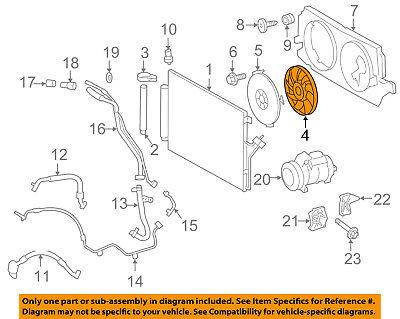 MERCEDES OEM 14-17 Sprinter 2500 Condenser-Fan Blade 9065000493