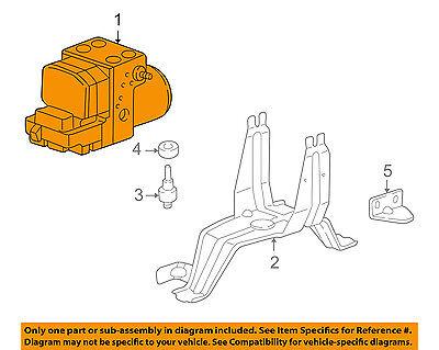 PORSCHE OEM 02-04 911 ABS Anti-lock Brakes-Modulator Valve 996355955AX