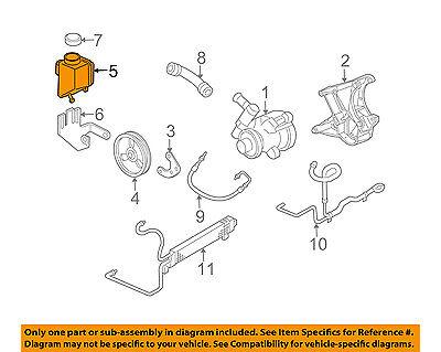 Chevrolet GM OEM 97-13 Corvette-Power Steering Reservoir Tank 26046502