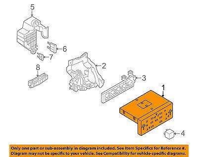 VW VOLKSWAGEN OEM 2013 Eos Electrical-Control Module 5K0937087AEZ1G