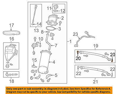 Chevrolet GM OEM 08-18 Corvette 6.2L-V8 Oil Cooler-Inlet Hose Seal 15217990