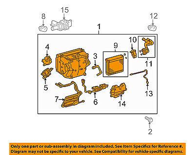TOYOTA OEM 04-09 Prius 1.5L-L4-A/C AC Evaporator Core 8705047110
