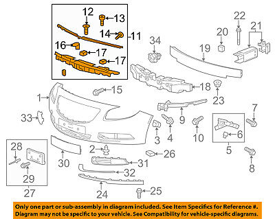 Pontiac GM OEM 04-06 GTO Front Bumper-Guide Bracket Right 92177409