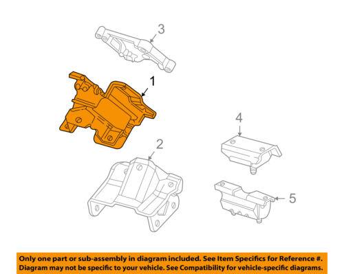 GM OEM-Engine Motor Mount//Torque Strut 25955046