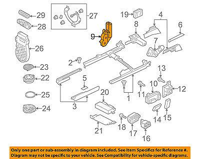 AUDI OEM 09-16 Q5 Power Seat Track-Motor 5N0959762A