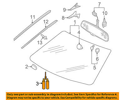 AUDI OEM 04-17 A8 Quattro Windshield-Adhesive Kit D004660M2
