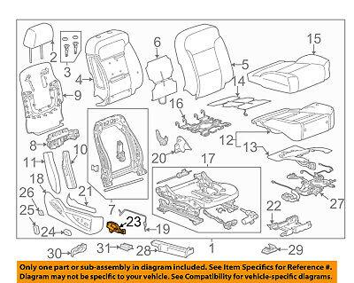 GM OEM Power Seat-Switch 23247098