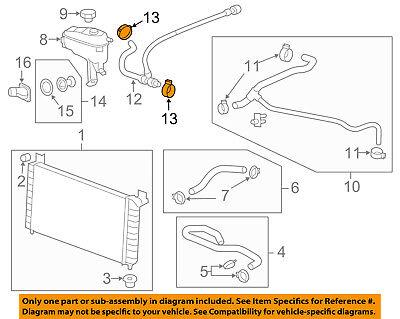 GM OEM Radiator-Outlet Hose Clamp 11570616