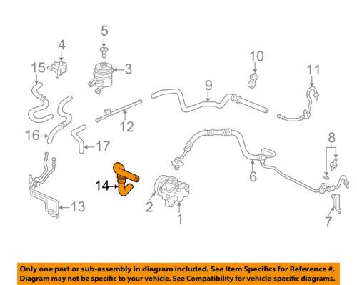 Fantastic Acura Honda Oem 02 06 Rsx Pump Hoses Steering Reservoir Hose Wiring 101 Vieworaxxcnl