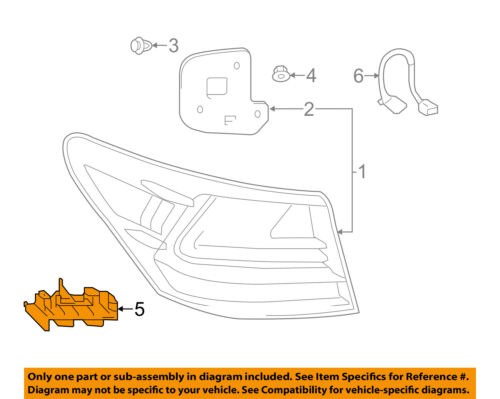 BRAND NEW GENUINE GM OEM BUMPER COVER SUPPORT RAIL #22555343