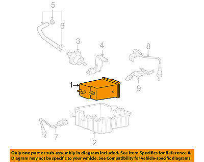 HYUNDAI OEM 00-03 Accent-Vapor Canister 3142022900