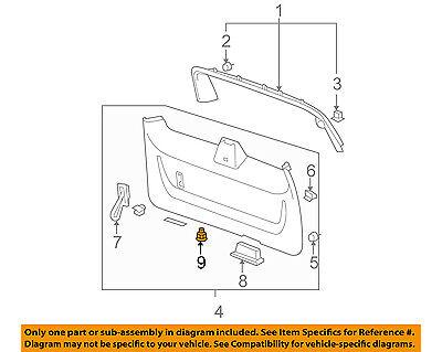 GM OEM Lift Gate-Control Switch 15211504