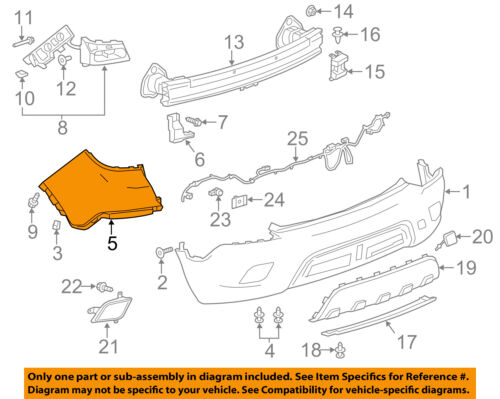 Buick GM OEM 13-16 Encore-Bumper Cover-Upper 95073187