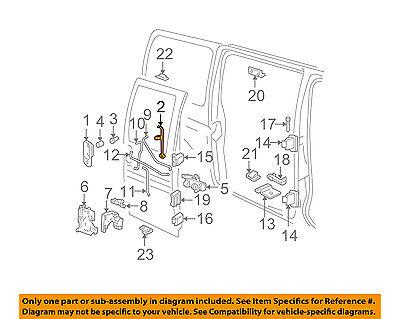 GM OEM Front Door-Handle, Outside Bracket Left 10393992