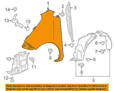 Chevrolet GM OEM 16-18 Spark-Fender Right 42355642