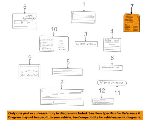 mercedes clk 320 fuse diagram mercedes oem 1998 clk320 labels fuse box info label 2085450000 ebay 2002 mercedes clk 320 fuse diagram mercedes oem 1998 clk320 labels fuse