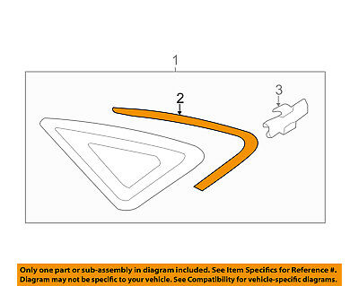 AUDI OEM 15 16 A3 Molding Trim Left 8V5853345CT94