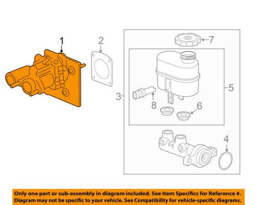 GM OEM-Power Brake Vacuum Booster 23135220