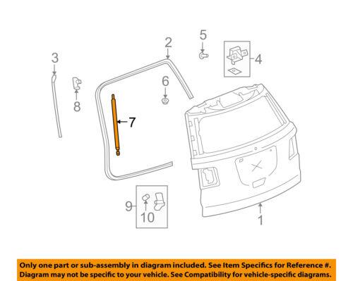 GM OEM Liftgate-Lift Cylinder 84298332
