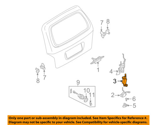 $_12?set_id=880000500F kia oem 2002 sedona liftgate tail tailgate trunk lock solenoid