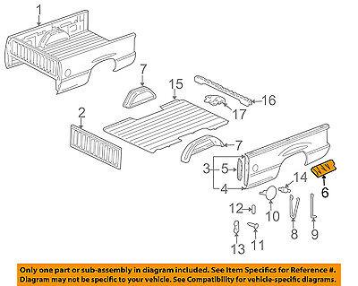 GM OEM Rear Fender Panel-Bed-Shield Left 15072620