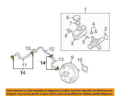 Brake Vacuum Hose Clamping Ring Genuine For Mercedes 1111410242