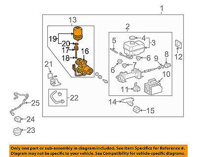 TOYOTA OEM-ABS Pump & Motor Assy 4707060050
