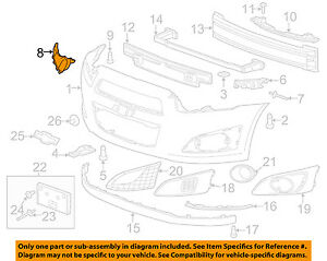 Chevrolet-GM-OEM-12-14-Sonic-Front-Bumper-Grille-Closing-Plate-Left-95976852