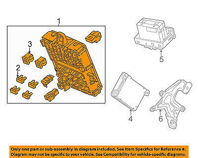 HONDA OEM 2011 CR-Z-Electrical Fuse & Relay Box 38200SZTA31