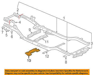 GM OEM Frame-Crossmember 15085421